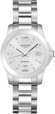 Longines Conquest Quartz 34mm L3.377.4.76.6 watch