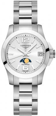 Longines Conquest Quartz Ladies 29.5mm L3.380.4.76.6 watch