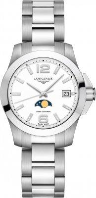 Longines Conquest Quartz 34mm L3.381.4.16.6 watch