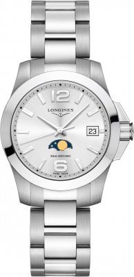 Longines Conquest Quartz 34mm L3.381.4.76.6 watch