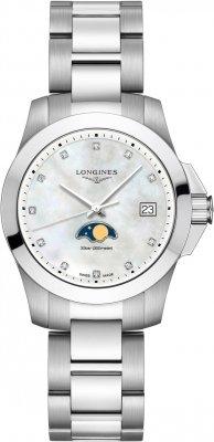 Longines Conquest Quartz 34mm L3.381.4.87.6 watch