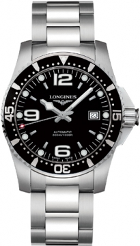 Longines HydroConquest Automatic 41mm Mens watch, model number - L3.642.4.56.6, discount price of £670.00 from The Watch Source