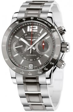 Longines Admiral Automatic Chronograph Mens watch, model number - L3.667.4.06.7, discount price of £2,310.00 from The Watch Source