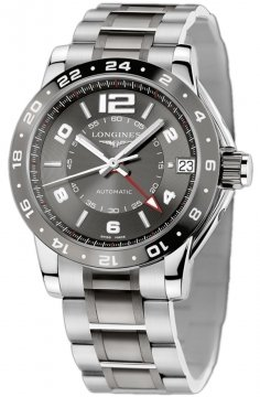 Longines Admiral GMT Mens watch, model number - L3.669.4.06.7, discount price of £2,105.00 from The Watch Source
