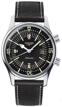 Longines Legend Diver Automatic Mens watch, model number - L3.674.4.50.0, discount price of £1,241.00 from The Watch Source