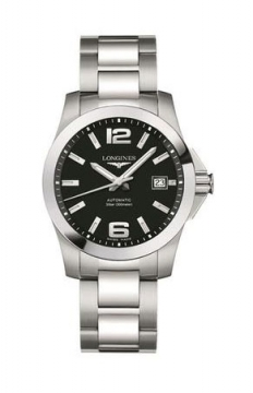 Longines Conquest Automatic 39mm Mens watch, model number - L3.676.4.58.6, discount price of £645.00 from The Watch Source