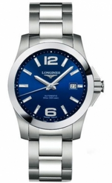 Longines Conquest Automatic 39mm Mens watch, model number - L3.676.4.99.6, discount price of £670.00 from The Watch Source