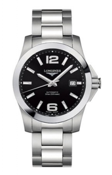Longines Conquest Automatic 41mm Mens watch, model number - L3.677.4.58.6, discount price of £645.00 from The Watch Source