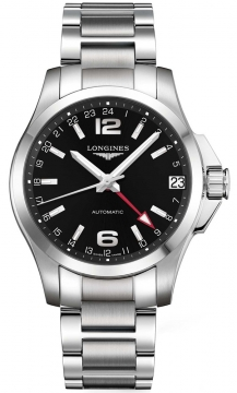 Longines Conquest Automatic 41mm Mens watch, model number - L3.687.4.56.6, discount price of £850.00 from The Watch Source