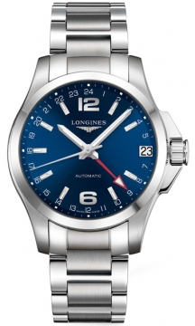 Longines Conquest Automatic 41mm Mens watch, model number - L3.687.4.99.6, discount price of £869.00 from The Watch Source