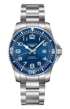 Longines HydroConquest Automatic 39mm Mens watch, model number - L3.694.4.03.6, discount price of £670.00 from The Watch Source