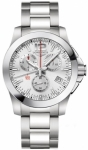 Longines Conquest Quartz Chrono 41mm L3.700.4.76.6 watch