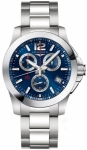 Longines Conquest Quartz Chrono 41mm L3.700.4.96.6 watch