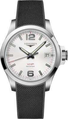 Longines Conquest V.H.P. 41mm L3.716.4.76.9 watch