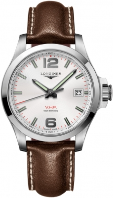 Longines Conquest V.H.P. 41mm L3.716.4.76.5 watch
