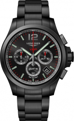 Longines Conquest V.H.P. Chronograph 42mm L3.717.2.96.9 watch