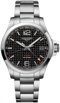 Longines Conquest V.H.P. GMT 41mm L3.718.4.66.6 watch