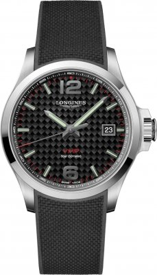 Longines Conquest V.H.P. 43mm L3.726.4.66.9 watch