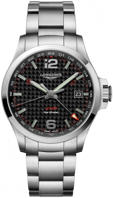 Longines Conquest V.H.P. GMT 43mm L3.728.4.66.6 watch