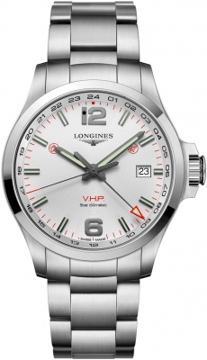 Longines Conquest V.H.P. GMT 43mm L3.728.4.76.6 watch
