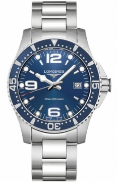 Longines HydroConquest Quartz 41mm L3.740.4.96.6 watch