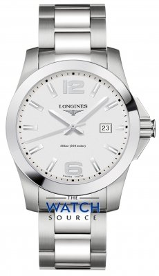 Longines Conquest Quartz 41mm L3.759.4.76.6 watch