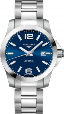 Longines Conquest Automatic 41mm L3.777.4.99.6 watch