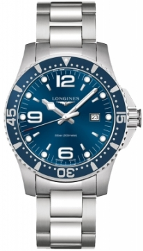 Longines HydroConquest Quartz 44mm L3.840.4.96.6 watch