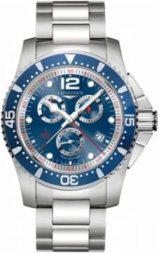 Longines HydroConquest Quartz Chrono 47mm L3.843.4.96.6 watch