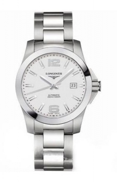 Longines Conquest Automatic 39mm Mens watch, model number - L3.676.4.76.6, discount price of £645.00 from The Watch Source