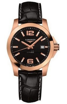 Longines Conquest Automatic 39mm Mens watch, model number - L3.676.8.56.3, discount price of £3,510.00 from The Watch Source
