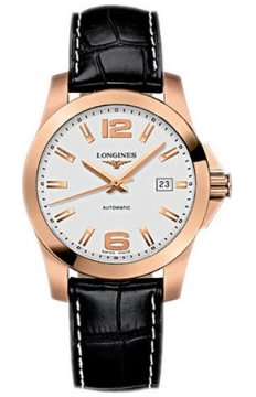Longines Conquest Automatic 39mm Mens watch, model number - L3.676.8.76.3, discount price of £3,510.00 from The Watch Source