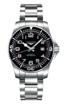 Longines HydroConquest Automatic 39mm Mens watch, model number - L3.694.4.53.6, discount price of £670.00 from The Watch Source