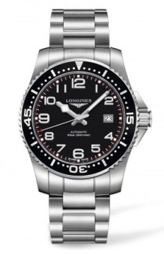 Longines HydroConquest Automatic 41mm Mens watch, model number - L3.695.4.53.6, discount price of £670.00 from The Watch Source