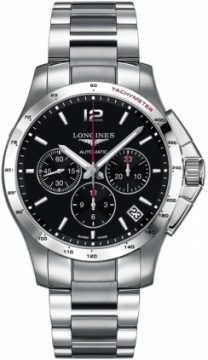 Longines Conquest Automatic Chronograph 44.5mm Mens watch, model number - L3.697.4.56.6, discount price of £1,505.00 from The Watch Source