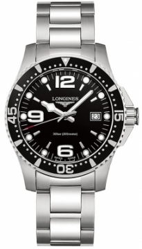 Buy this new Longines HydroConquest Quartz 41mm L3.740.4.56.6 mens watch for the discount price of £680.00. UK Retailer.