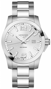 Longines Conquest Quartz 43mm L3.760.4.76.6 watch