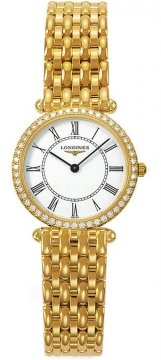 Longines La Grande Classique Quartz 24mm Ladies watch, model number - L4.191.7.11.6, discount price of £6,075.00 from The Watch Source
