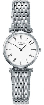 Buy this new Longines La Grande Classique Quartz 24mm L4.209.4.11.6 ladies watch for the discount price of £705.00. UK Retailer.
