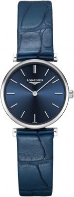 Buy this new Longines La Grande Classique Quartz 24mm L4.209.4.95.2 ladies watch for the discount price of £747.00. UK Retailer.