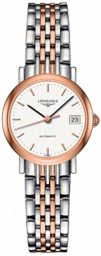 Longines Elegant Automatic 25.5mm Ladies watch, model number - L4.309.5.12.7, discount price of £1,230.00 from The Watch Source