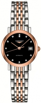 Longines Elegant Automatic 25.5mm Ladies watch, model number - L4.309.5.57.7, discount price of £1,394.00 from The Watch Source
