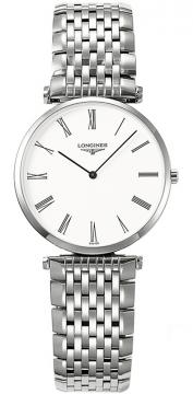 Buy this new Longines La Grande Classique Quartz 29mm L4.512.4.11.6 ladies watch for the discount price of £783.00. UK Retailer.
