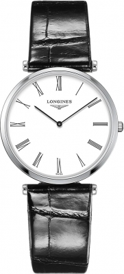 Buy this new Longines La Grande Classique Quartz 33mm L4.709.4.21.2 midsize watch for the discount price of £688.00. UK Retailer.