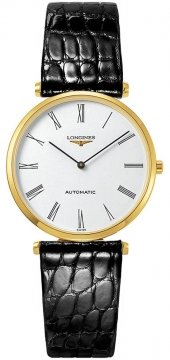 Buy this new Longines La Grande Classique Automatic 34mm L4.738.6.11.2 ladies watch for the discount price of £2,740.00. UK Retailer.