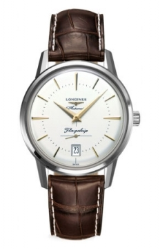 Longines Flagship Heritage Mens watch, model number - L4.795.4.78.2, discount price of £880.00 from The Watch Source