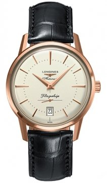 Longines Flagship Heritage Mens watch, model number - L4.795.8.78.2, discount price of £3,365.00 from The Watch Source