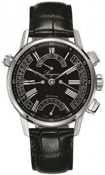 Longines Heritage Retrograde Mens watch, model number - L4.797.4.51.2, discount price of £2,142.00 from The Watch Source