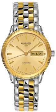 Longines Flagship Automatic Day Date 35.6mm L4.799.3.32.7 watch