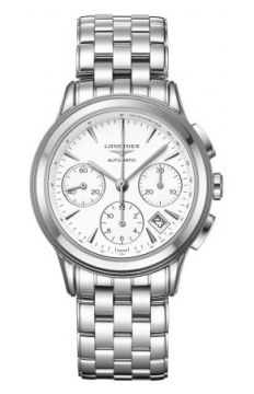 Longines Flagship Automatic Chronograph Mens watch, model number - L4.803.4.12.6, discount price of £1,350.00 from The Watch Source